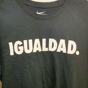 Nike Shirts - Nike Igualdad Equality T Shirt Size XL